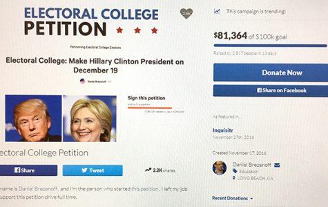 Electoral College Petition Gains Signatures