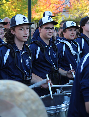 Drumline Competition on February 25
