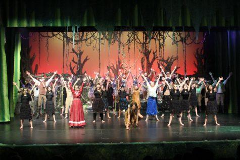 Tarzan: The First Fall Musical Production at Glacier Peak High School