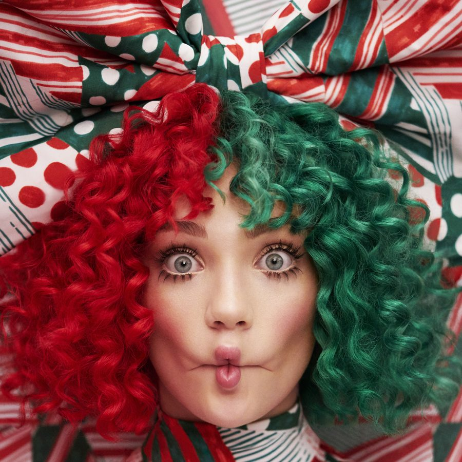 Cover+of+Sia%27s+%22Every+Day+is+Christmas%22+featuring+Maddie+Ziegler