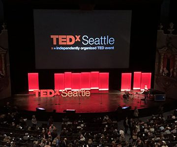 Spending The Day At TEDXSeattle