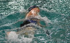 Boys Swim First Loss