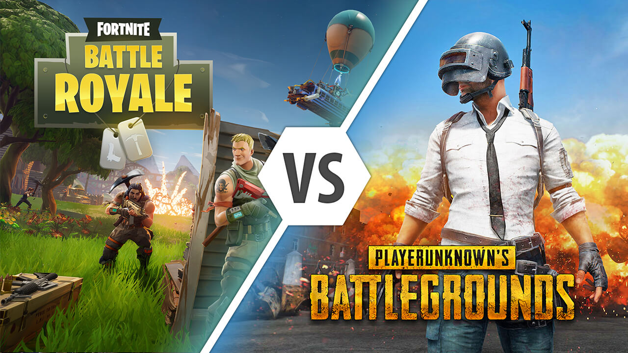 The Fornite and PUBG poster mashup. Credit: wikimedia.com