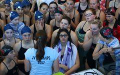 Girls Swim Teams Separate