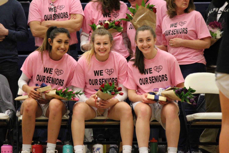 The senior girls.