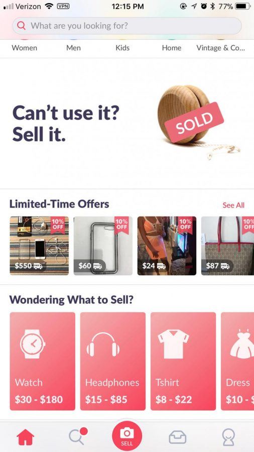 One+of+the+apps+you+can+sell+on+called+Mercari.