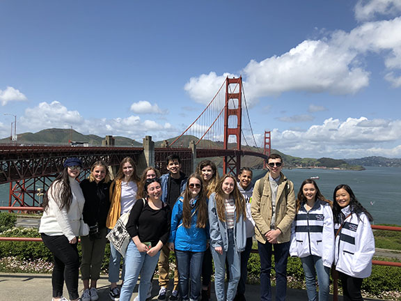 Publication students in San Francisco