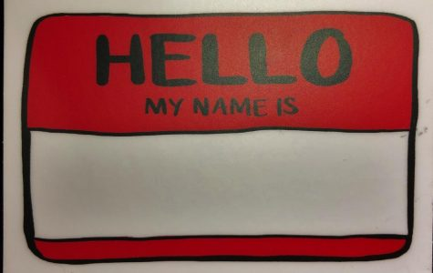 Hello my name is….