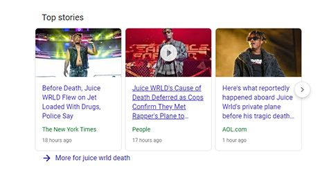 Juice Wrld's Death
