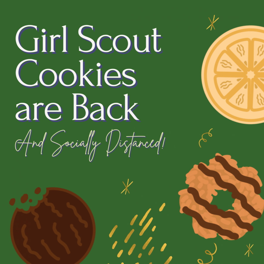 Girl Scout Cookies Are Back- And Socially Distanced