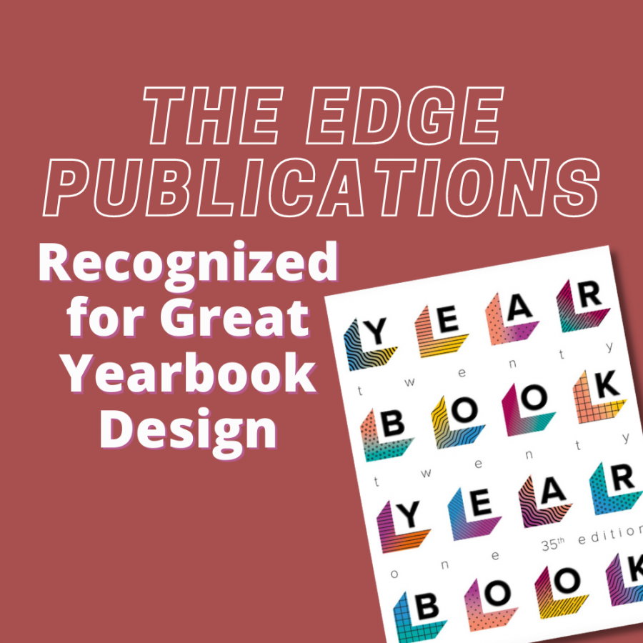 The Edge Recognized for Great Yearbook Design