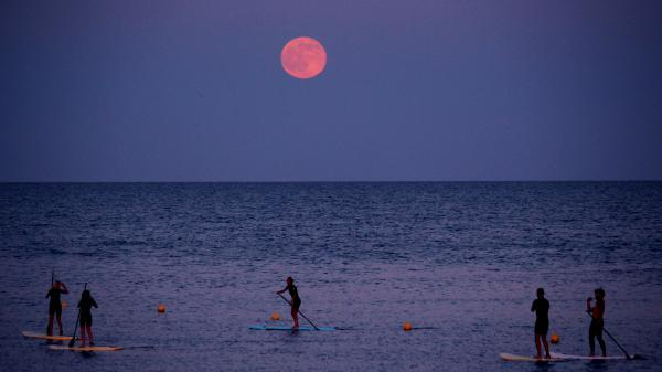 A Strawberry Super Moon is taking place on June 24